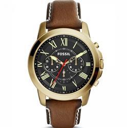 Relógio Masculino Fossil Analógico FS5062/2MN Couro