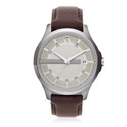 081d077714d Relógio Masculino Armani Exchange Analógico UAX2100 Z Couro