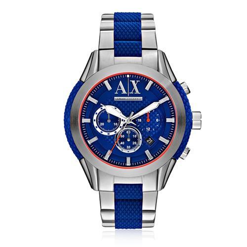 c8db3c33d52 Relógio Masculino Armani Exchange Analógico AX1386 1AN Fundo Azul