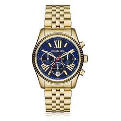 Relógio Feminino Michael Kors Analógico MK6206/4AN Fundo Azul