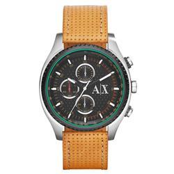 Relógio Masculino Armani Exchange Analógico AX1608/0PN Couro