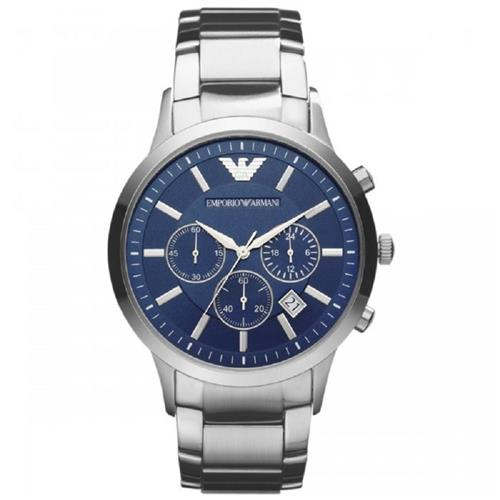 Relógio Masculino Emporio Armani HAR2448/Z Fundo Azul