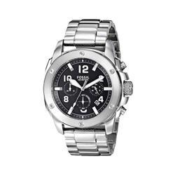 12d35463a07 Relógio Masculino Fossil Analógico FS4926 1PN Fundo Preto