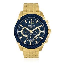Relógio Masculino Seculus Chronograph 20247GPSVDA4 Dourado