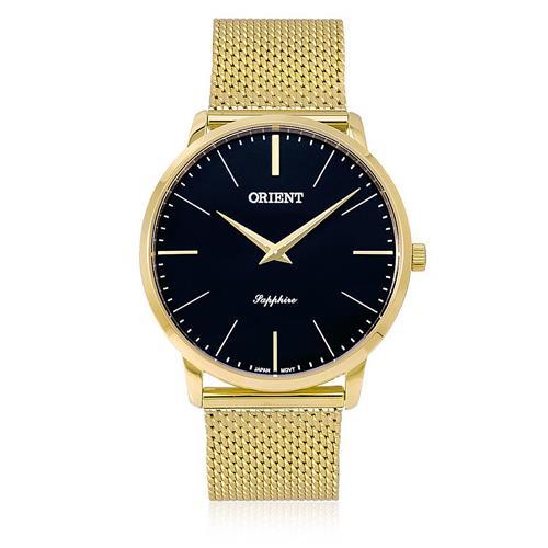 21720fcbc1d Relógio Masculino Orient Sapphire Analógico MGSSS005 P1KX Fundo Preto
