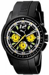 Relógio Masculino Puma Race Luminous Chrono 96075GPPMPU3 Borracha
