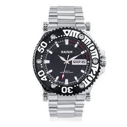 Relógio Masculino Magnum Analógico MA32149T Aço