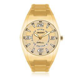 Relógio Masculino Orient Sport Analógico MGSS1026 S2KX Dourado