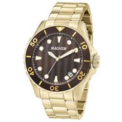 Relógio Masculino Magnum Analógico MA34727X Dourado