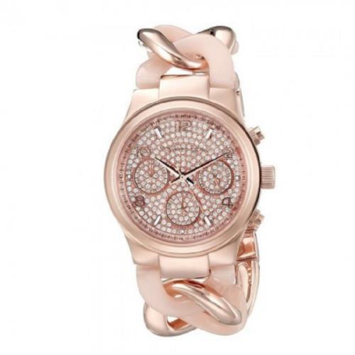 4960635bab5f6 Relógio Feminino Michael Kors Runway Twist MK4283 4TN Rose