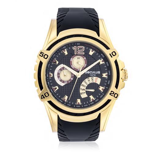 Relógio Masculino Seculus Analógico 23541GPSVDU4 Preto