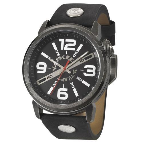 Relógio Masculino Yankee Street Black Angels YS30461P Couro