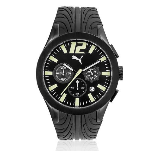 Relógio Masculino Puma Tire Analógico 96078GPPMPU1 Borracha