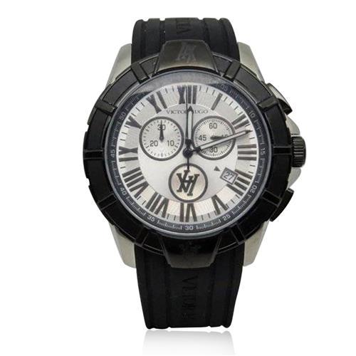 fe1a9bbbe5a Relógio Masculino Victor Hugo Analógico VH10054GSB 04 Borracha 51291