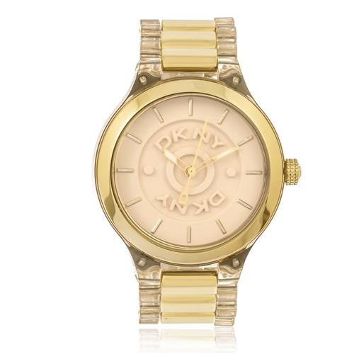 ca22c92fc28 Relógio Feminino DKNY Analógico GNY8168N Dourado