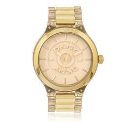 Relógio Feminino DKNY Analógico GNY8168N Dourado