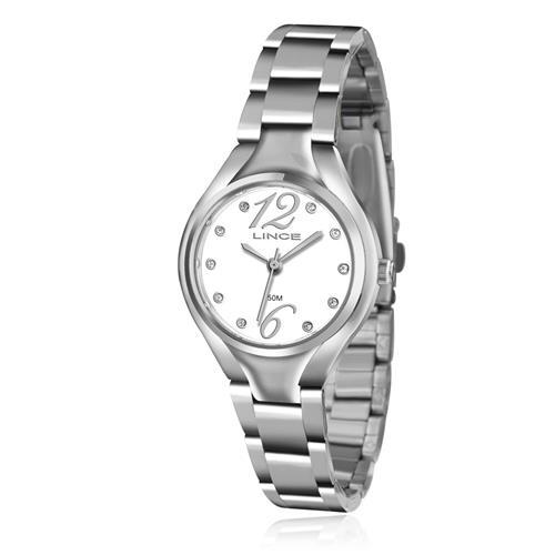 Relógio Feminino Lince Analógico LRMJ057L B2SX Aço
