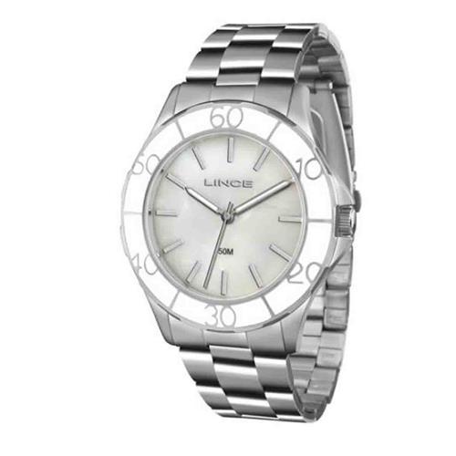 Relógio Feminino Lince Analógico LRMJ067L B1SX Aço