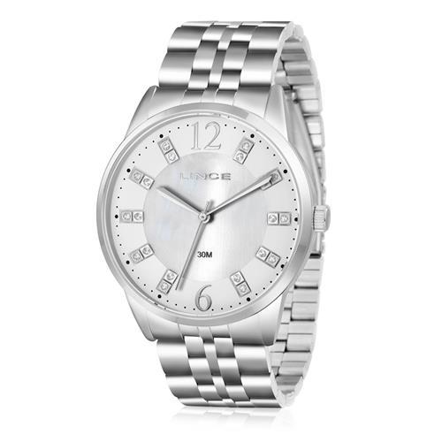 Relógio Feminino Lince Analógico LRMJ044L B2SX Aço 8a376fa8e1