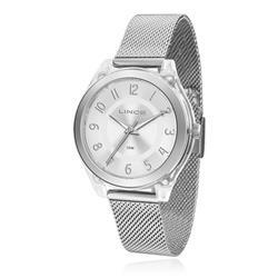 Relógio Feminino Lince Analógico LRM4432P S2SX Pulseira Esteira