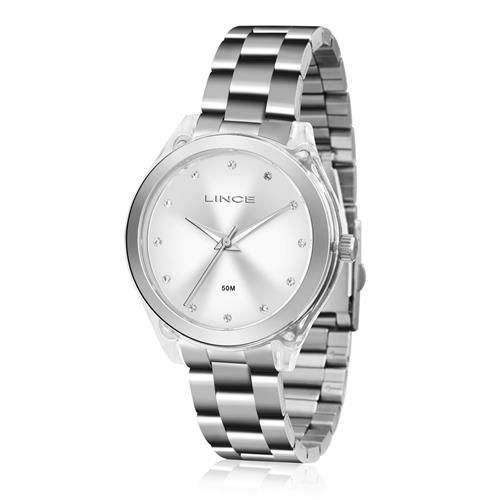 Relógio Feminino Lince Analógico LRM4431P S1SX Aço