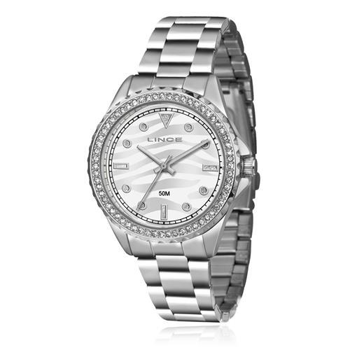 Relógio Feminino Lince Analógico LRMJ059L S1SX Aço