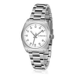 Relógio Feminino Lince Analógico LRMH035L B1SX Aço