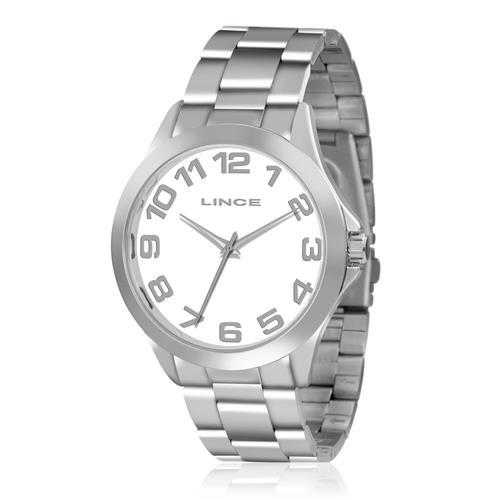 Relógio Feminino Lince Analógico LRMJ039L B2SX Aço