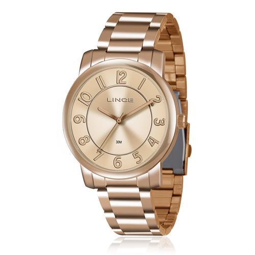 f1ed9a46624 Relógio Feminino Lince Analógico LRR4439L R2RX Rose