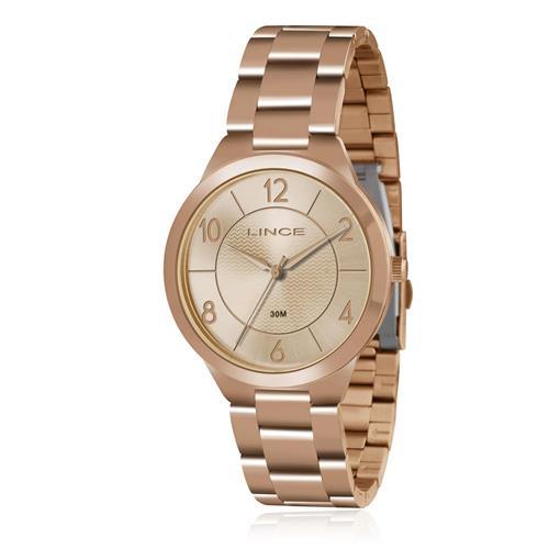 139535ddb9a Relógio Feminino Lince Analógico LRR4438L R2RX Rose