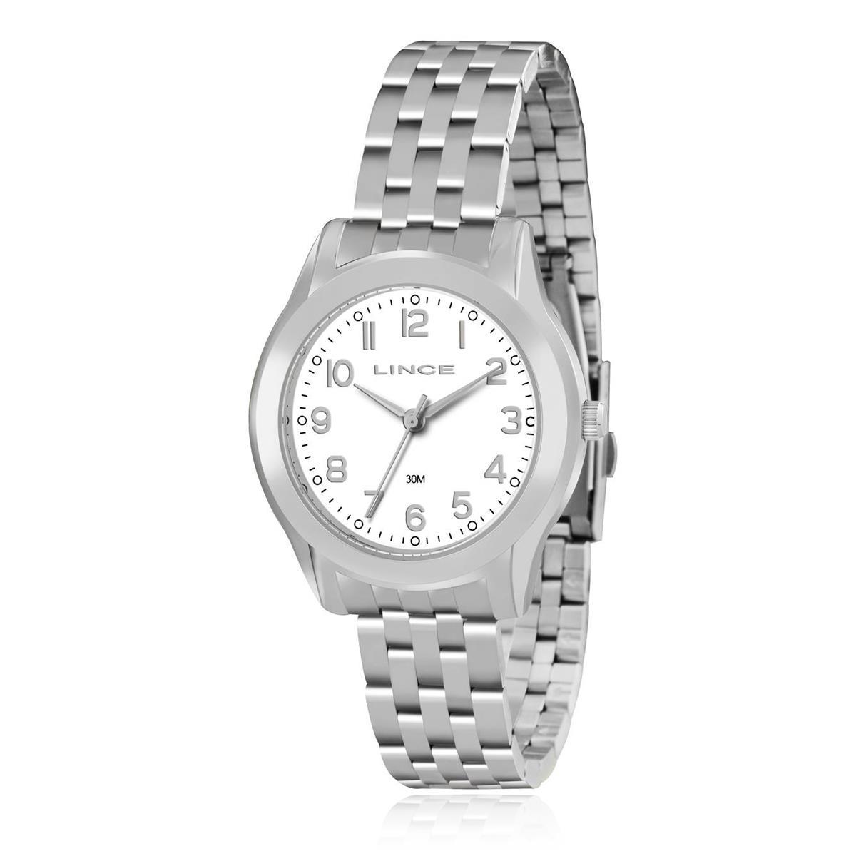 Relógio Feminino Lince Analógico LRM4313L B2SX Aço 8c6fed840e