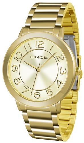 fabb5bc91b3 Relógio Feminino Lince Analógico LRGH046L C2KX Dourado