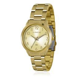 Relógio Feminino Lince Analógico LRG4310L C2KX Dourado