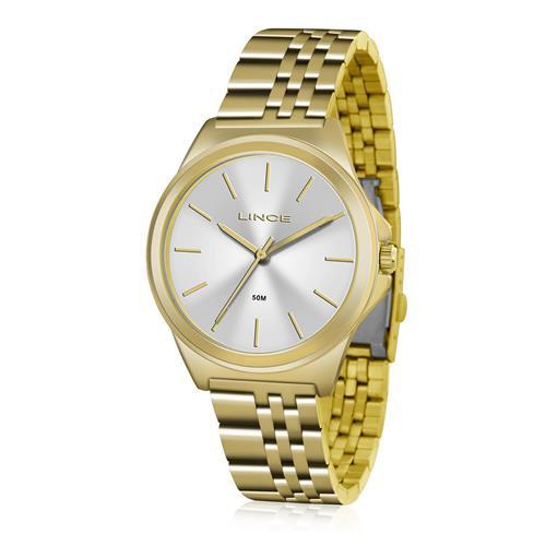 Relógio Feminino Lince Analógico LRG4428L S1KX Dourado