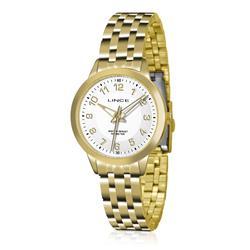 Relógio Feminino Lince Analógico LRGH026L B2KX Dourado