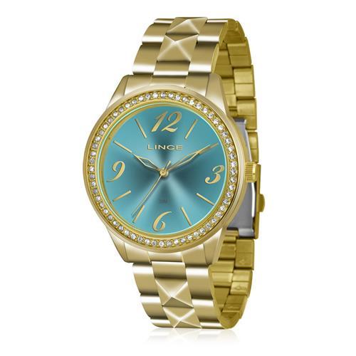 Relógio Feminino Lince Analógico LRG4343L KU22 Kit Colar e Par de Brincos