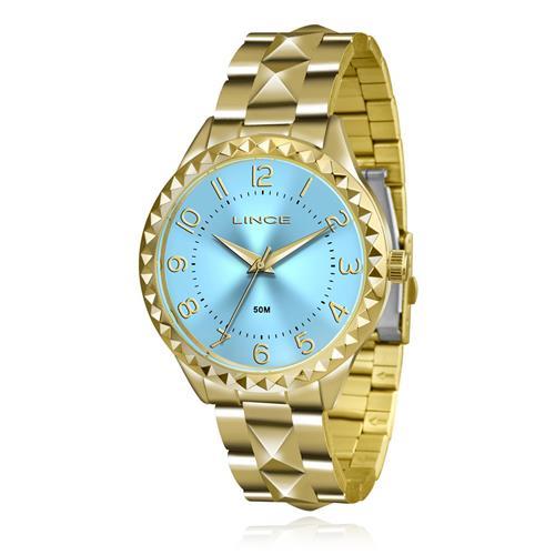 Relógio Feminino Lince Analógico LRG4380L KU25 Kit Colar e Par de Brincos