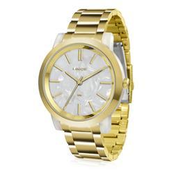 Relógio Feminino Lince Analógico LRT613P B1KX Dourado