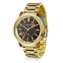 Relógio Feminino Lince Analógico LRT612P M1KX Dourado