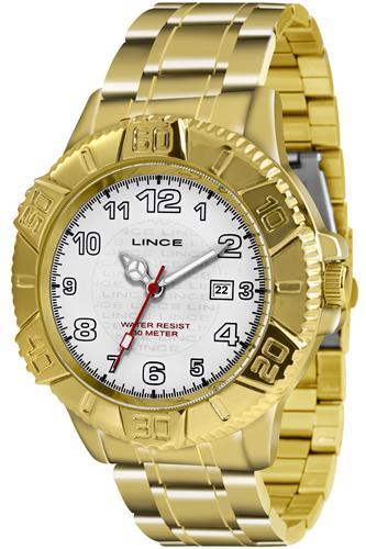 Relógio Masculino Lince Analógico MRG4334L B2KX Dourado