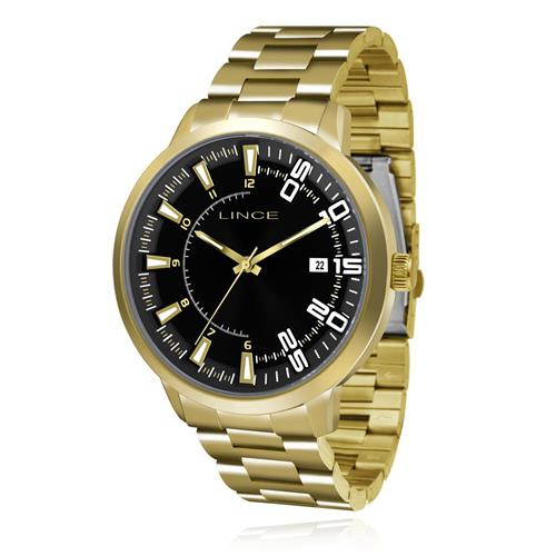 Relógio Masculino Lince Analógico MRG4353S P2KX Dourado