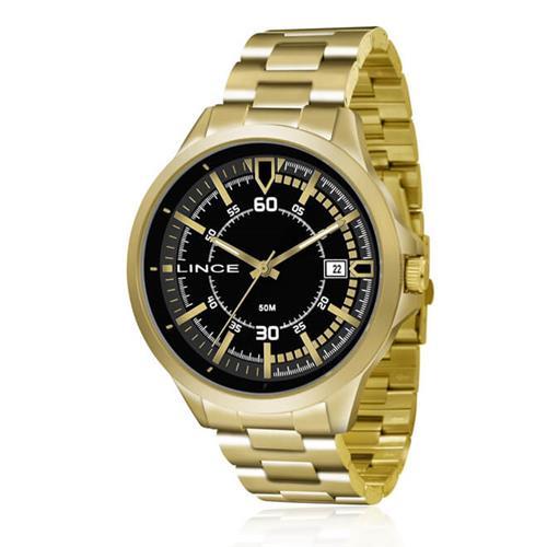 Relógio Masculino Lince Analógico MRG4358S P2KX Dourado