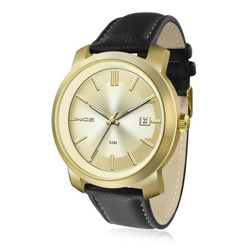 Relógio Masculino Lince Analógico MRC4464S C1PX Couro