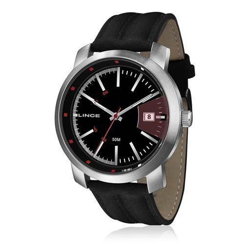 Relógio Masculino Lince Analógico MRC4401S PVPP Couro
