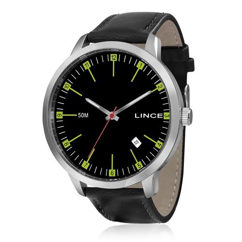 Relógio Masculino Lince Analógico MRC4350S P2PX Couro