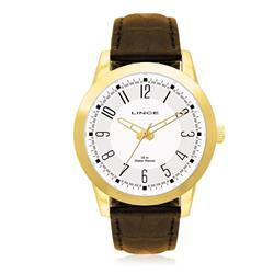 Relógio Masculino Lince Analógico MRC4063S B2MX Couro
