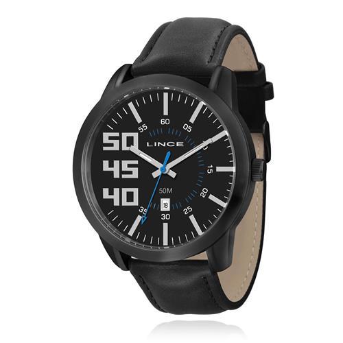Relógio Masculino Lince Analógico MRC4270S P2PX Couro