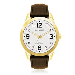 Relógio Masculino Lince Analógico MRC4061S B2MX Couro