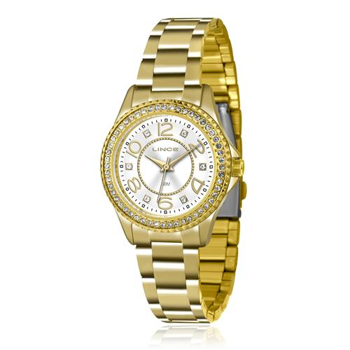 5b2b6009c6e Relógio Feminino Lince Analógico LRGJ055L KU27 Kit Colar e Par de Brincos