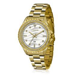 Relógio Feminino Lince Analógico LRGJ059L KU28 Kit Colar e Par de Brincos